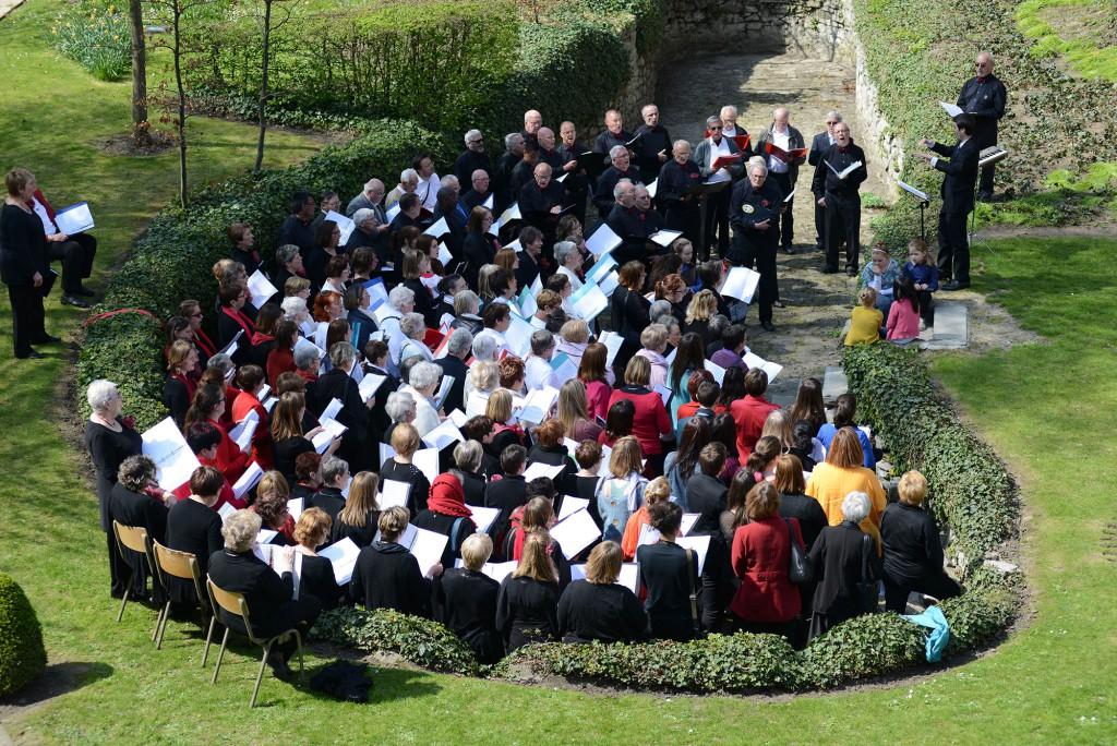 19 avril 2015 : Festival de chorales à la Maison des Géants – ATH –
