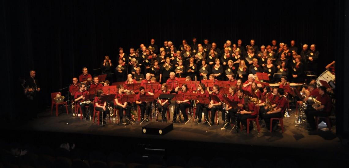 Concert avec la fanfare de Huissignies : 7 octobre 2017