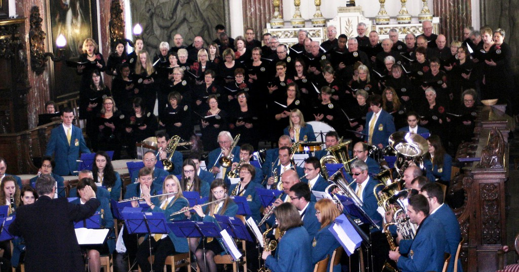 22 novembre 2015 : Concert de Ste Cécile avec la fanfare de Lorette