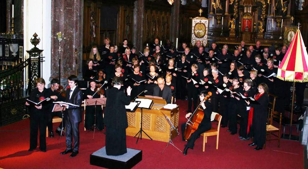 24 octobre 2015 : Concert de musique Baroque en la Collégiale de TONGRE NOTRE DAME