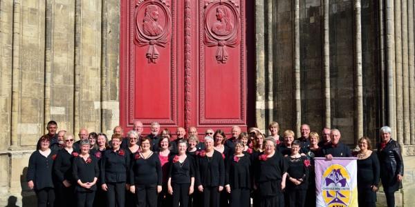 JUILLET 2016 : Voyage chantant de la chorale en Normandie
