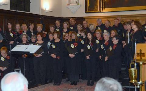 6 FEVRIER 2016 : Concert pour l'inauguration de l'harmonium à IRCHONWELZ