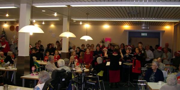 19 décembre 2015 : Noël dans les maisons de repos d'ATH