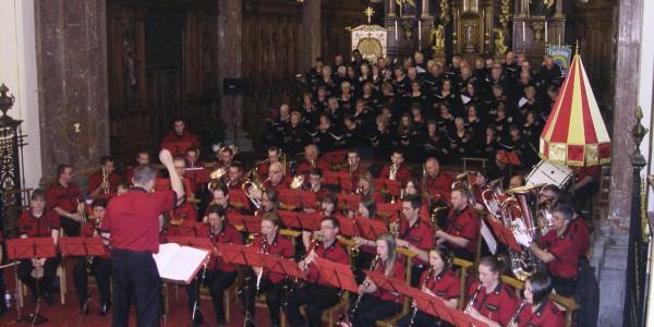 15 mai 2015 : Concert de gala avec la fanfare de Huissignies