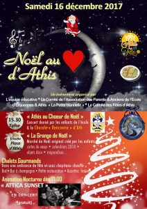 Concert de Noël à ATHIS