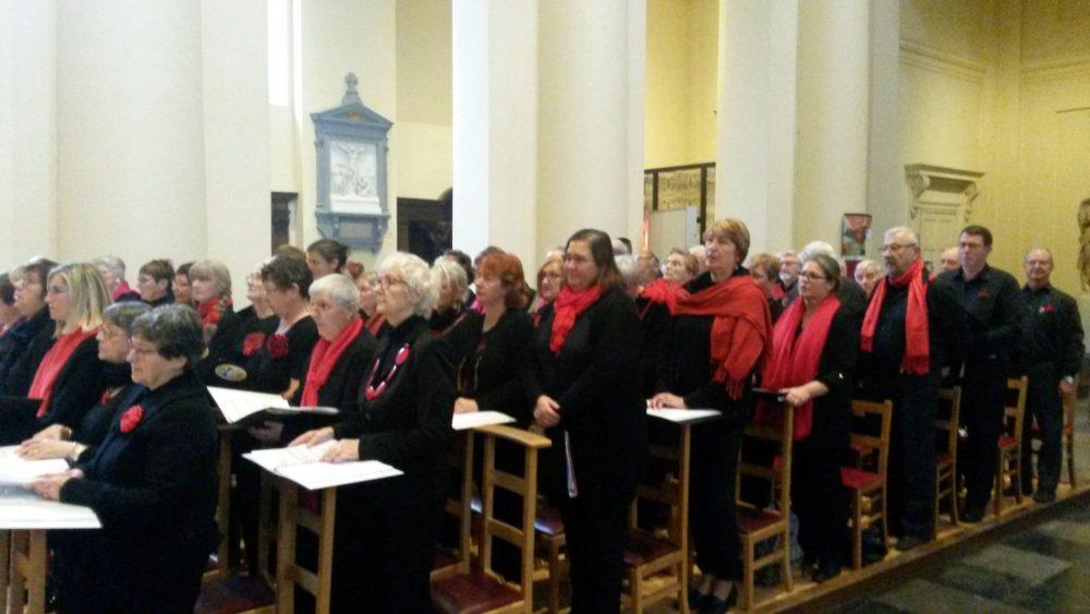 Concert en l'église de St Jacques sur Coudenberg